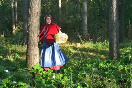 Who's after Red Riding Hood? Photo by Lisa Hunter