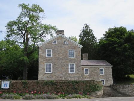 William Lyon Mackenzie's Printery, home of the Colonial Advocate.