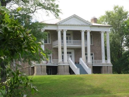 Originally a Bright home, this Neo Classical structure is now Willowbank School for Restoration Arts.
