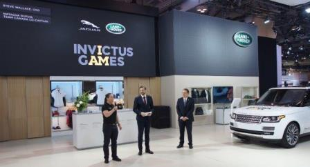 Invictus Games sponsor Jaguar/Land Rover