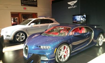 Bugatti and Bentley SUV