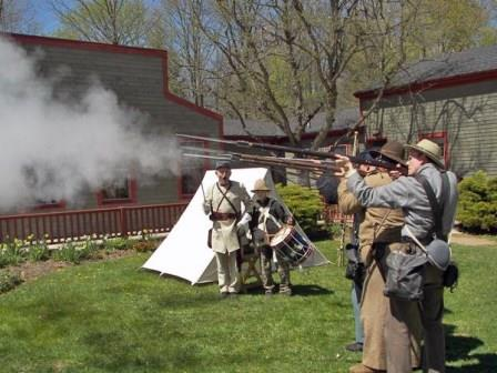 The Civil War will be re-enacted at Westfield Heritage Village
