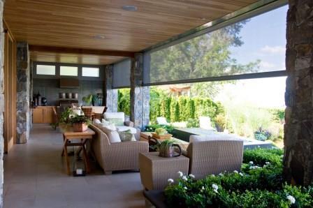 Outdoor Kitchen Executive Screen w