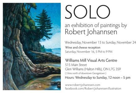 You're invited to see Johanssen's solo exhibition.