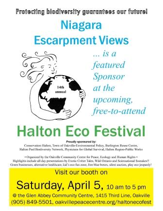 Niagara Escarpment Views Poster w