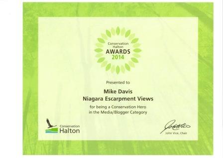 Conservation award w