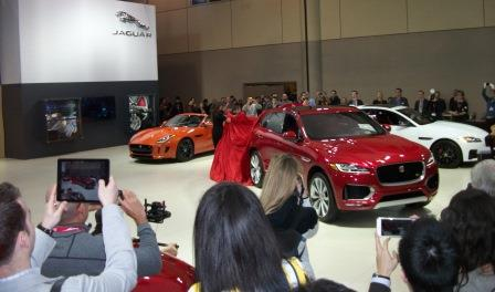 Jaguar introduced a new diesel model. Photo by Mike Davis.
