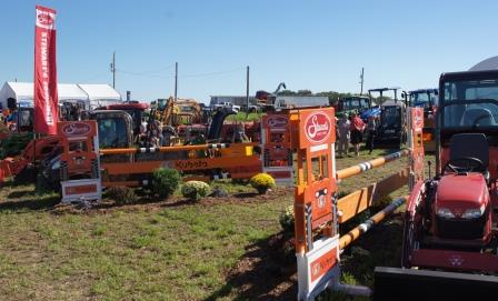 Stewart's Equipment shared a large exhibit of Kubota & other products.